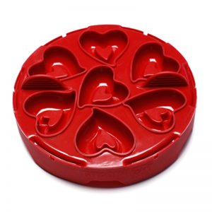 Idlito 4-in-1 Silicone Kitchen Mold – Red