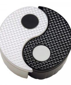Yin Yang Storage Bin - Black and White