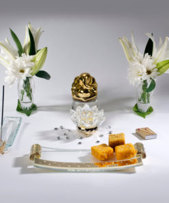 5pc Crystal Set – Gold