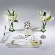 5pc Crystal Set – Silver