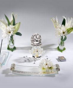 5pc Crystal Set – Silver