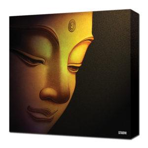 Canvas Wall Art – Buddha Portrait