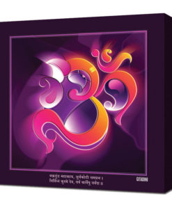 Canvas Wall Art – Mantra Om