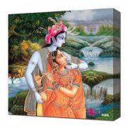 Canvas Wall Art – Radha Krishna