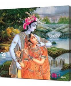 Canvas Wall Art – Radha Krishna