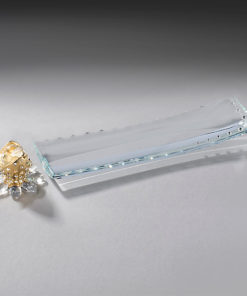 Crystal Incense Holder Set - Gold