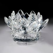 Crystal Lotus Votive Holder – Crystal