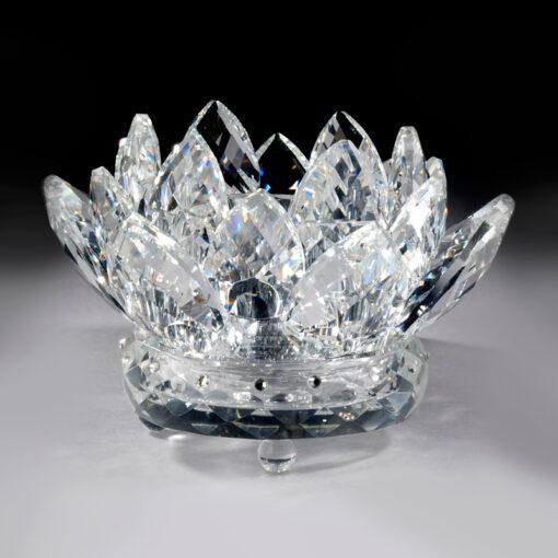Crystal Lotus Votive Holder – Crystal