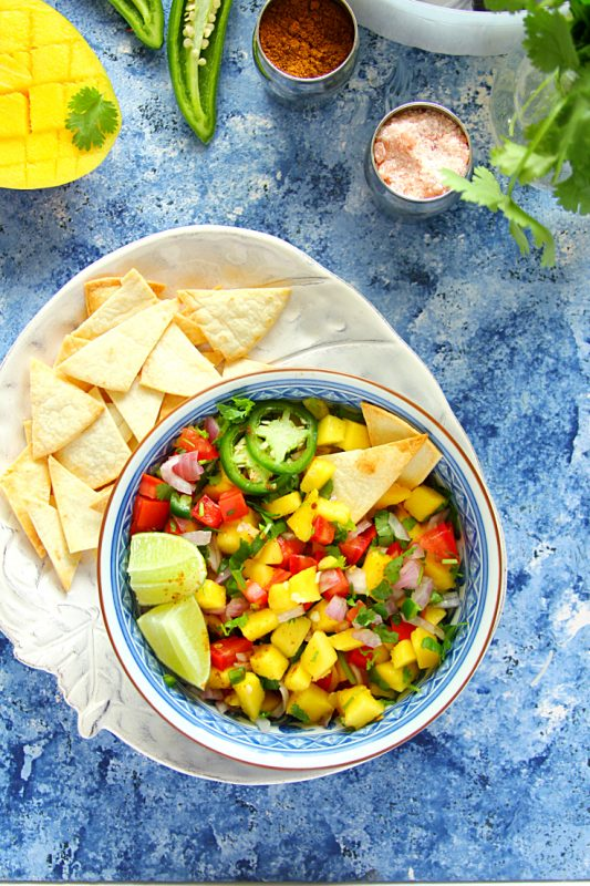 Fresh Summer Mango Salsa